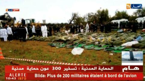Al menos 257 muertos tras estrellarse un avión militar a 35 km de Argel