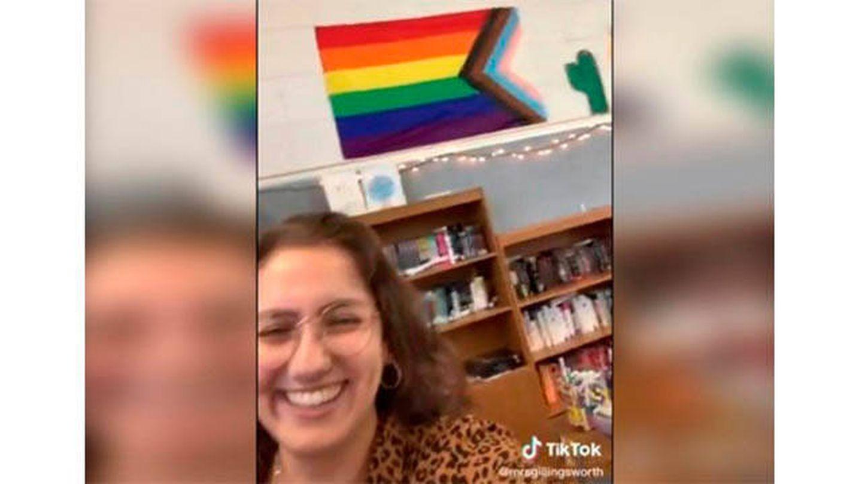 Fotograma del vídeo de TikTok de Kristen Pitzen (TikTok @mrsgillingsworth)