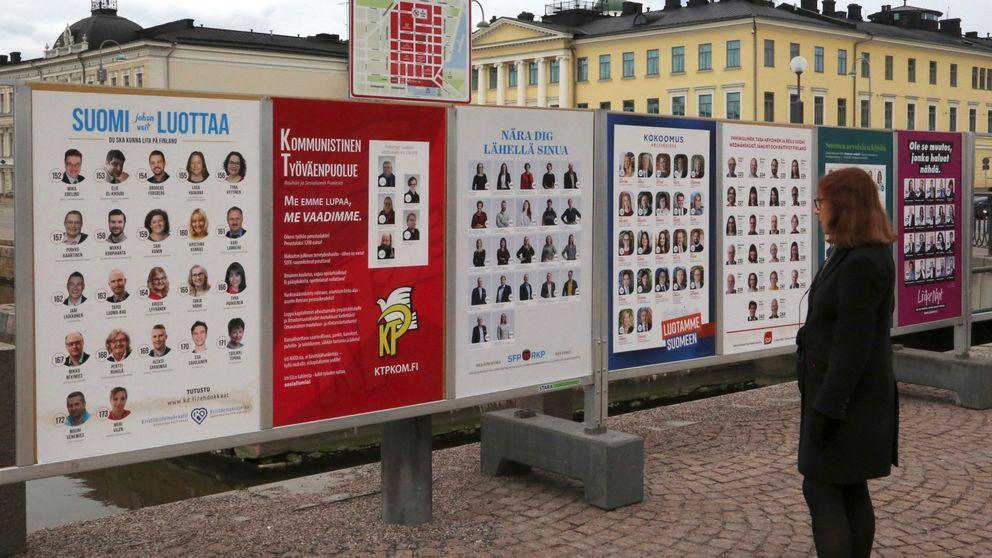 Los socialdemócratas ganan por dos décimas a la ultraderecha en Finlandia
