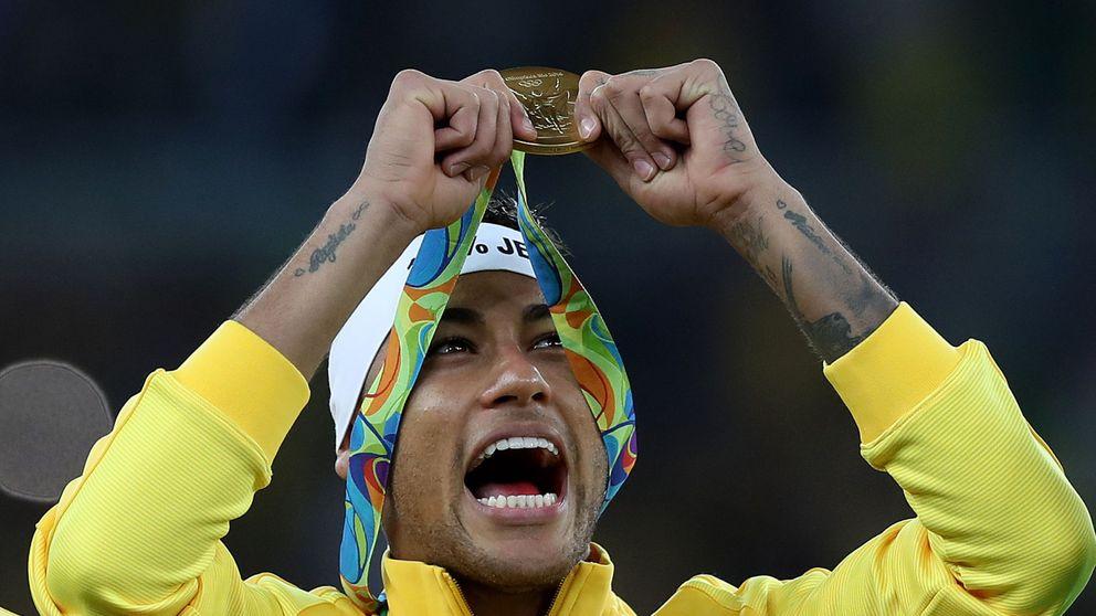 Neymar y un soñado oro olímpico que devuelve el orgullo a los brasileños