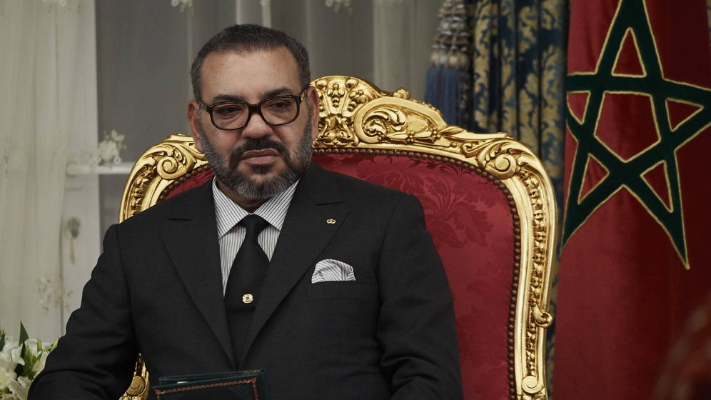 Foto: El rey Mohamed VI. (Getty)