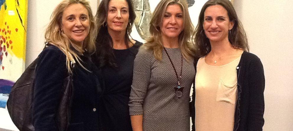 Cristina Valls Taberner vuelve a la vida social de Madrid