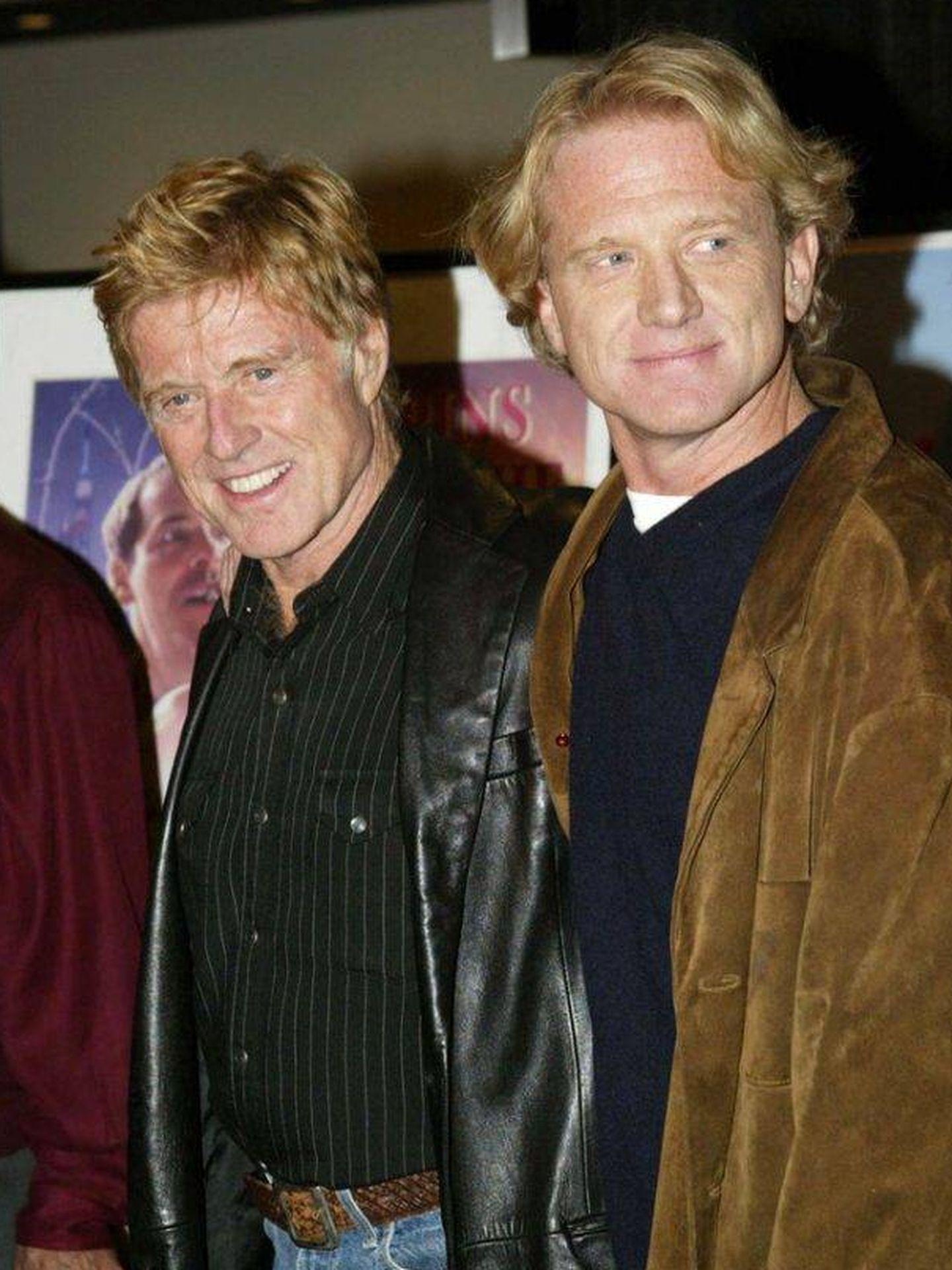 Robert y James Redford. (The Redford Center)