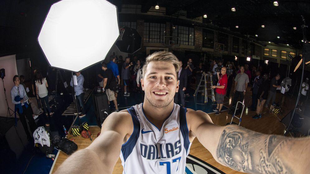 Foto: Luka Doncic es uno de los jugadores de moda en la NBA. (USA TODAY Sports)