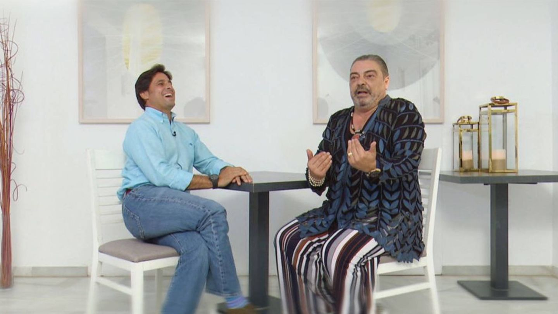 Fran Rivera y Antonio Canales en 'Espejo Público'. (Antena 3)