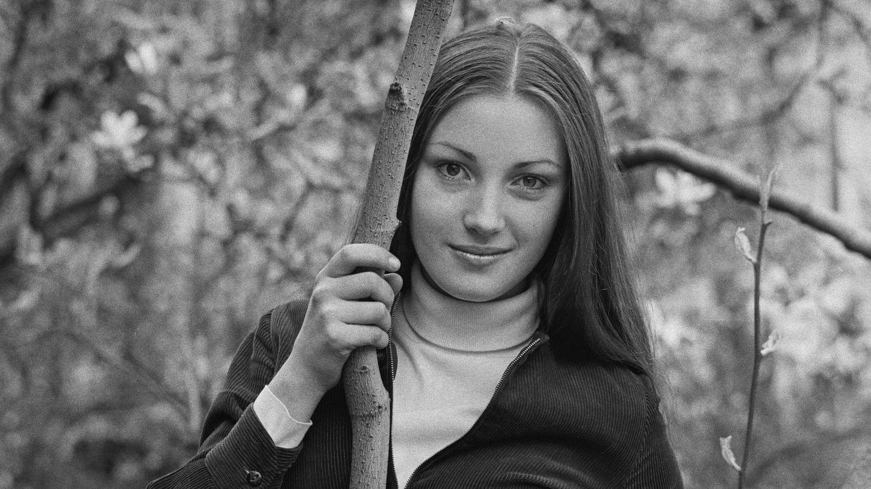 Jane Seymour, en 1969. (Getty)
