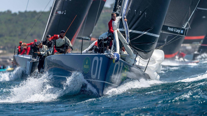 Foto: Momento de la regata.