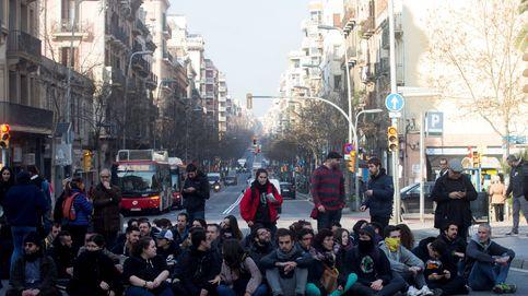 La 'huelga de país' pincha y se convierte en una sucesión de activismo de los CDR