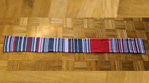 Una mujer teje una 'bufanda protesta' por el retraso del tren... y la vende por 7.550€
