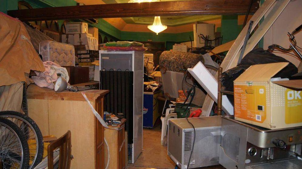 Foto:  Lugar donde almacenaba los muebles. (EC)