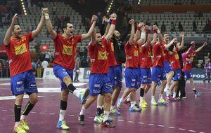 España ya está en cuartos tras una exhibición en la primera parte