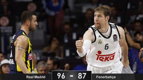 El Madrid se quita la presión de encima con su mejor basket y estará en la final