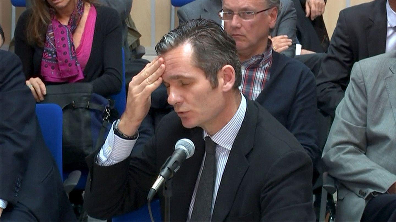 Iñaki Urdangarin declara en el juicio del caso Nóos. (Reuters)