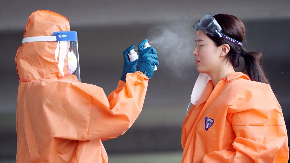 Foto: Ola de calor a comienzos de junio en Corea del Sur. (Reuters)
