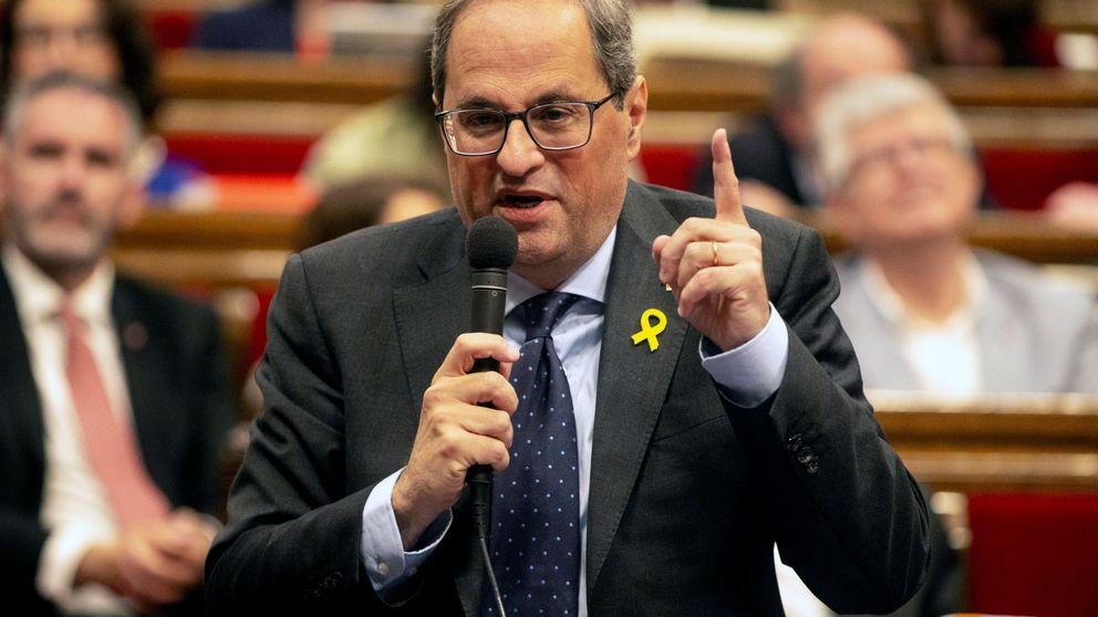 Torra exige a Fiscalía la retirada de acusaciones y la libertad de los presos