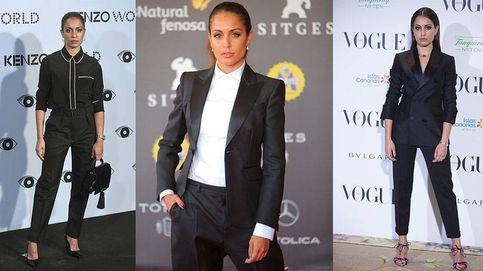 Hiba Abouk: por qué el traje de chaqueta la ha convertido en un icono de estilo