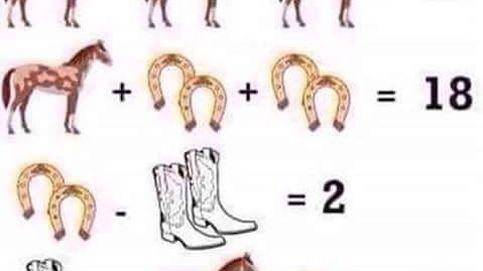 Es una ecuación sencilla, pero desconcierta  a todo el mundo