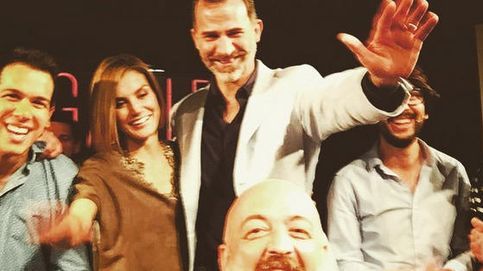 El selfie más divertido de los Reyes