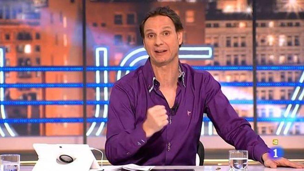 Foto: Javier Cárdenas 'roba' Richard Gere a 'El hormiguero'.