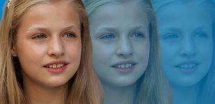 Post de La princesa de Asturias y su hermana Sofía, las escolares invisibles