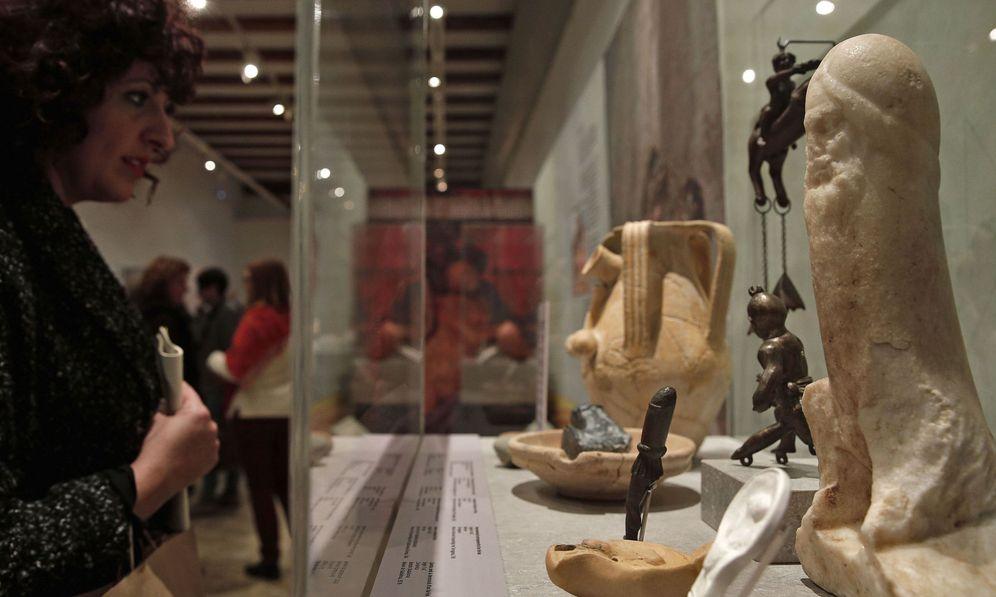 Foto: El museo de prehistoria presenta la exposición el sexe en l'epoca romana