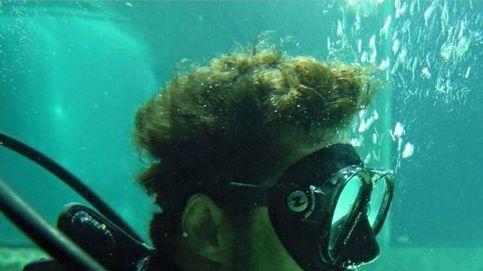 David Bisbal, refrescante chapuzón entre tiburones