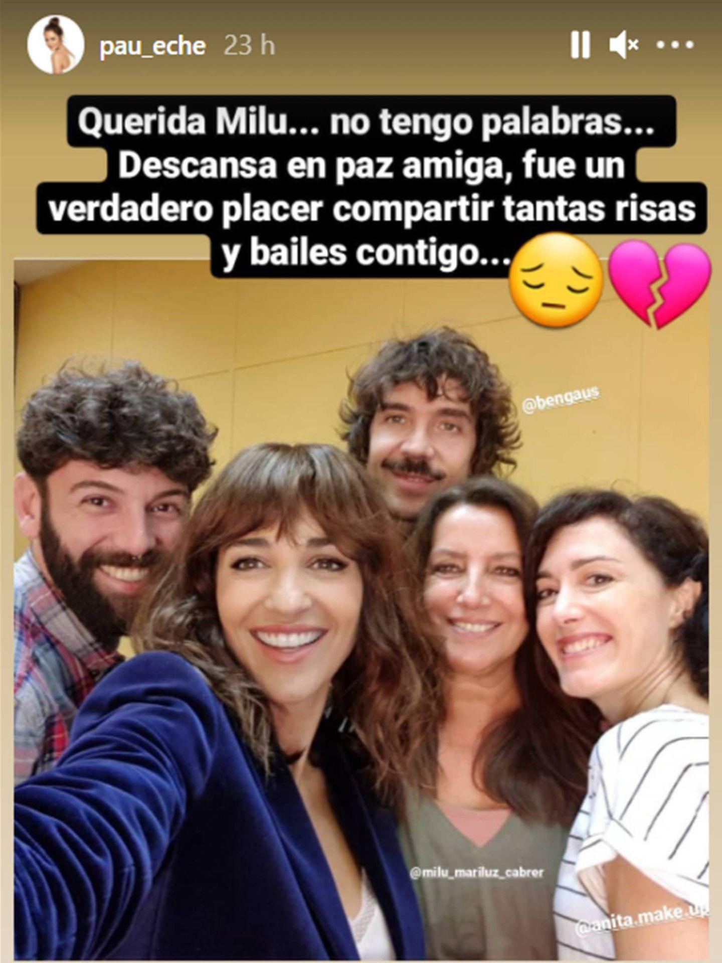 El mensaje de Paula Echevarría. (Instagram @pau_eche)
