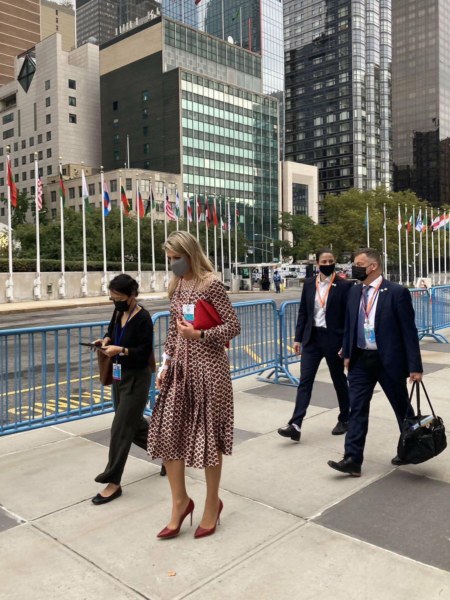 La reina Máxima, en la sede de la ONU. (Casa Real de los Países Bajos)