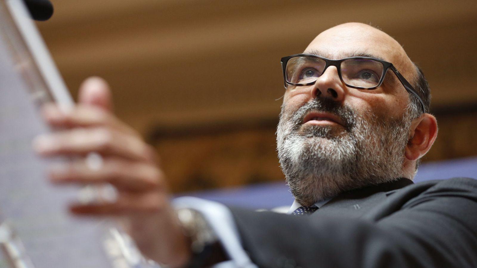 Foto: El presidente de Indra, Fernando Abril-Martorell. (EFE)