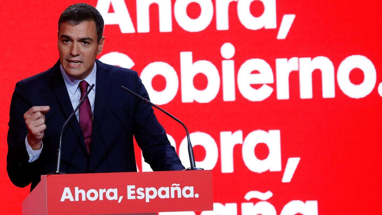 El secretario general del PSOE y presidente del Gobierno en funciones, Pedro Sánchez, el lunes. (EFE)