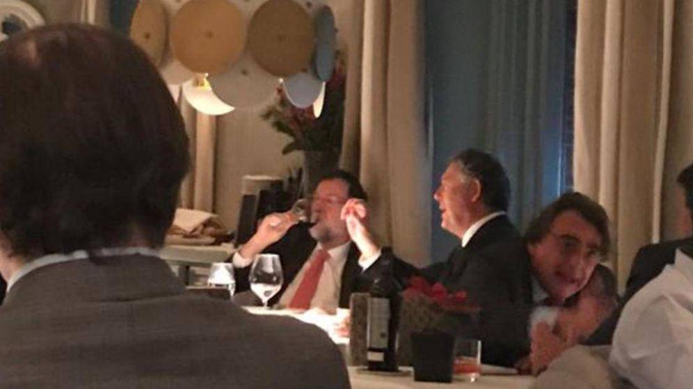 Foto:  Rajoy con Michavila el pasado jueves. (EC)