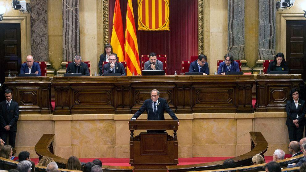 Referéndum, fin de la monarquía, dimisión de Torra... qué se vota en el Parlament