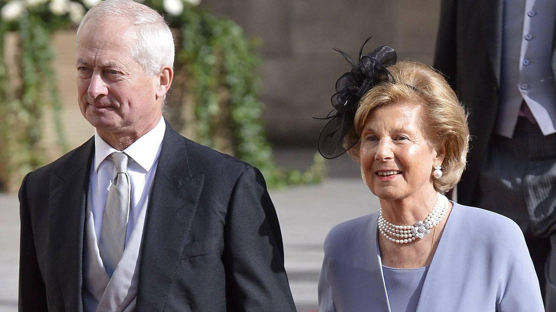 Hans Adam II y Marie de Liechtenstein, en una imagen de archivo. (EFE)