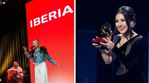 Iberia 'gana' en los Premios Grammy latinos gracias a 'Volando' y la venezolana Nella
