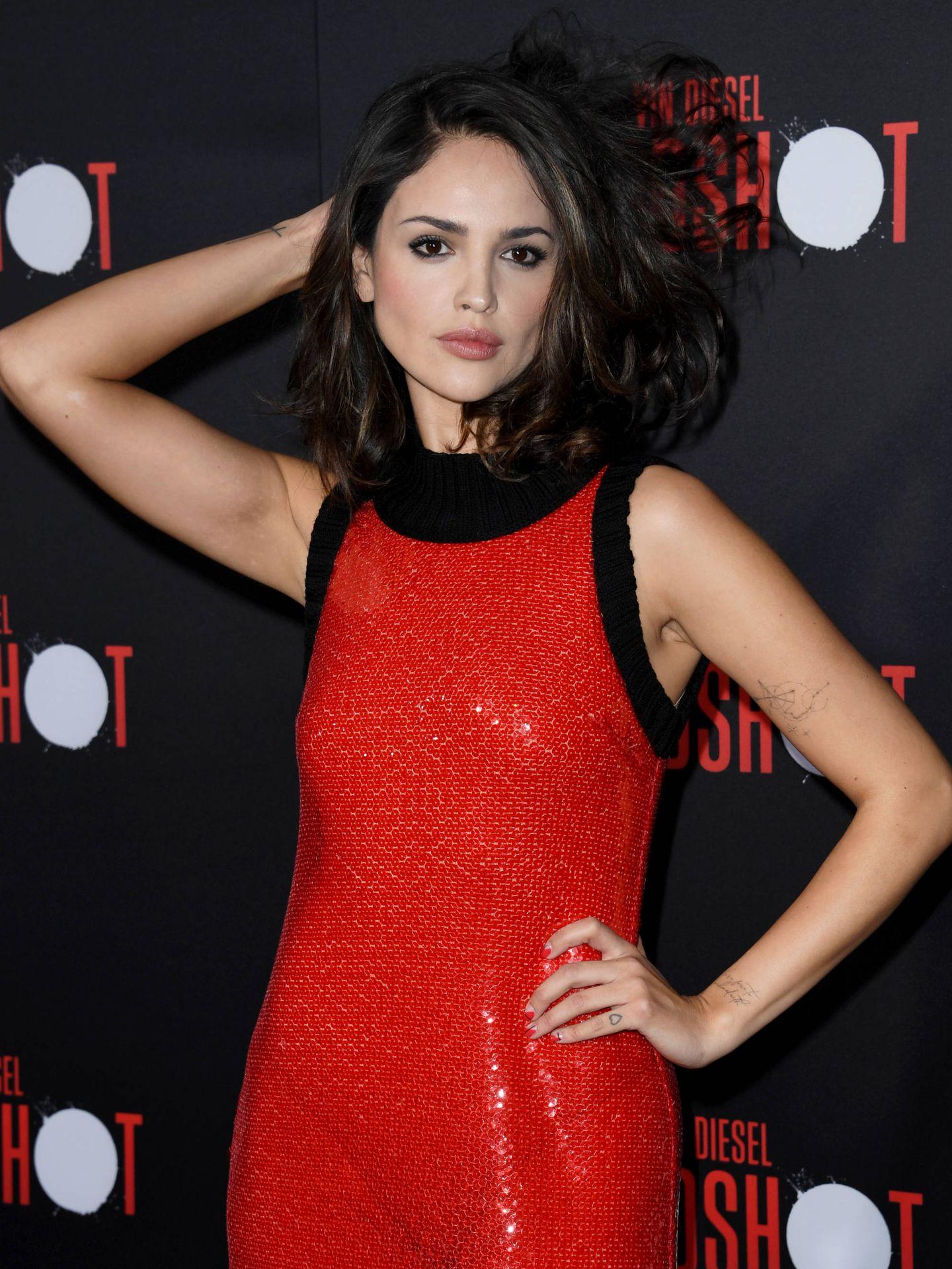 La actriz mexicana Eiza González. (Getty)