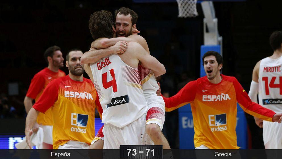 La mejor España aparece en el momento justo para meterse en semifinales