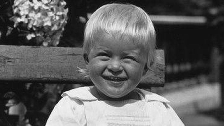 El duque de Edimburgo, de pequeño.