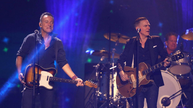 Bryan Adams y Bruce Springsteen. (Getty)