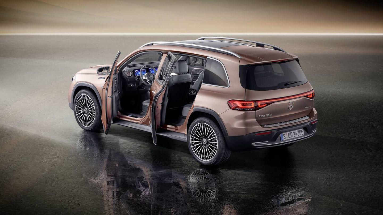 El Mercedes-Benz EQB había sido presentado ya en China, pero será primicia europea en el IAA Mobility de Múnich.