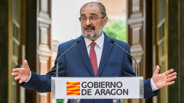 El presidente aragonés, Javier Lambán.
