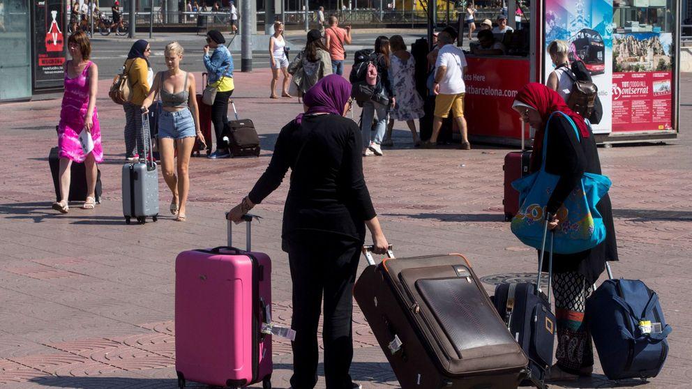 La llegada de turistas registra el mayor descenso en ocho años