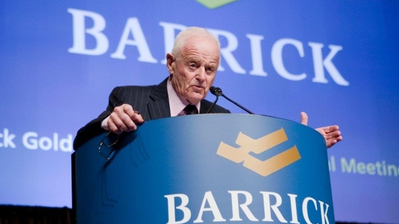 Peter Munk, fundador y presidente del consejo de administración de Barrick. (Reuters)