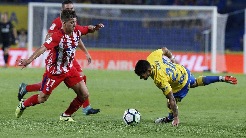 Luciano Vietto, durante el partido Las Palmas-Atlético de Madrid. (EFE)