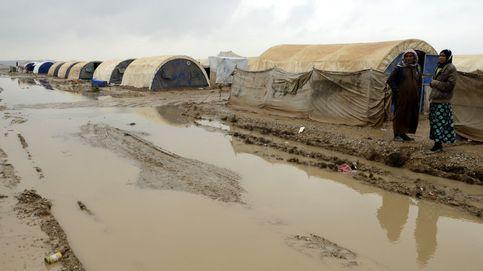 Las fuertes lluvias han causado daños en Mosul