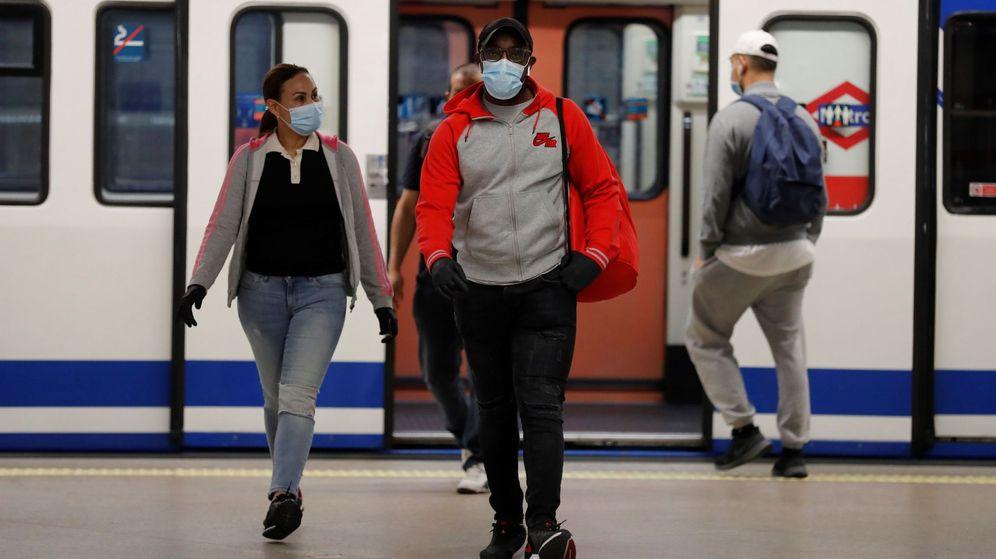 Foto: El metro de la estación de Atocha, en Madrid. (EFE)