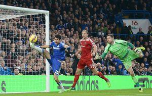 Diego Costa guía al Chelsea y el United deja al Arsenal hundido