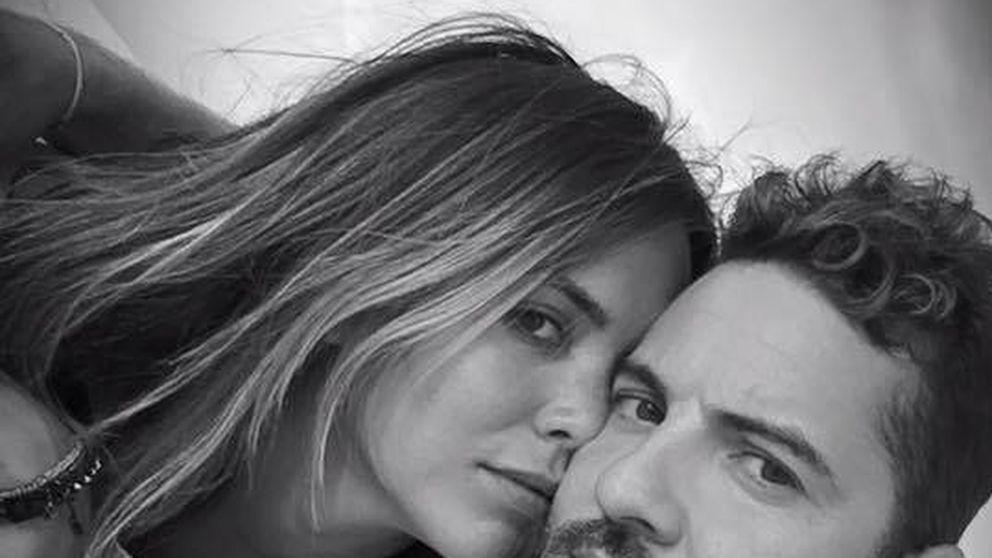 David Bisbal se pone meloso para felicitar a su novia, Rosanna Zanetti