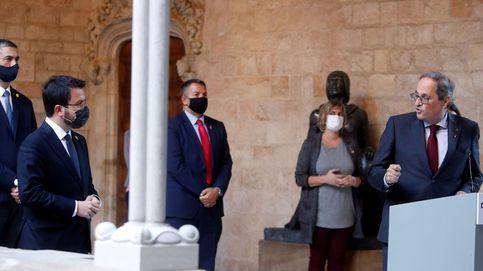 El Diario de la Generalitat proclama a Pere Aragonès sustituto de Quim Torra