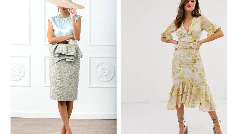 Sofisticada o bohemia, pero siempre con falda.