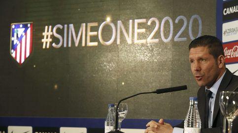 Andrea Berta ejerce de pacificador para evitar el divorcio Atlético-Simeone